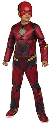 Flash Justice League Deluxe Muscle Child Costume