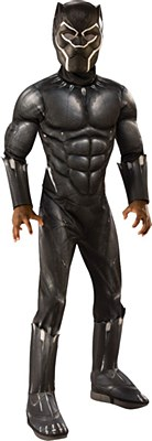 Black Panther Deluxe Muscle Child Costume