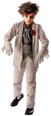 Ghost Groom Child Costume