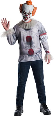 IT Pennywise Clown Deluxe Adult Costume