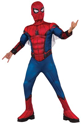 Spiderman Far From Home Deluxe Muscle Child Costume