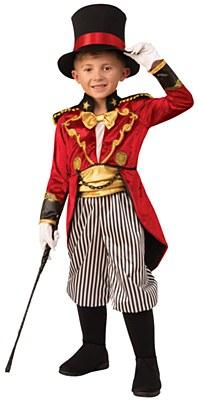 Circus Ring Master Child Costume