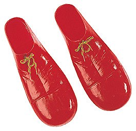Clown Red Child Shoe Covers
