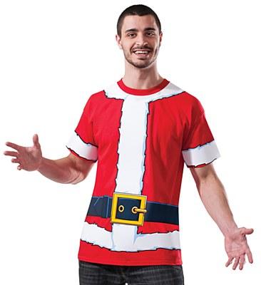 Santa Adult T-Shirt