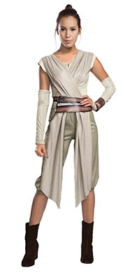 Star Wars The Force Awakens Deluxe Rey Adult Costume