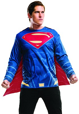Superman Long Sleeve T-Shirt And Cape