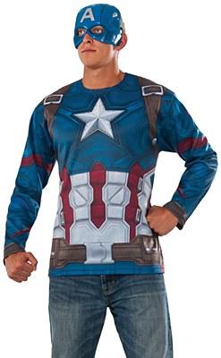 Captain America Adult Costume Kit