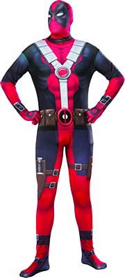 Deadpool 2nd Skin Morphsuit Adult Costume
