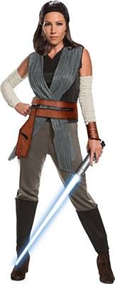 Star Wars Last Jedi Rey Deluxe Adult Costume