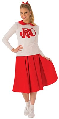 Grease Sandy Rydell High Cheerleader Adult Costume