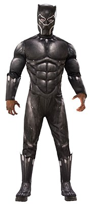 Black Panther Deluxe Muscle Adult Costume