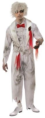 Ghost Groom Adult Costume