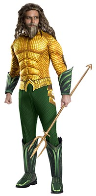 Aquaman Movie Deluxe Muscle Adult Costume