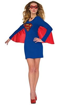 Supergirl Adult Costume
