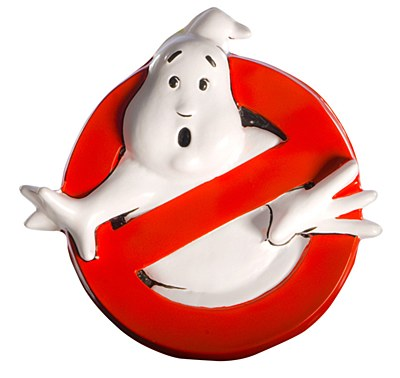 Ghostbusters Plastic Wall Sign