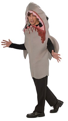 Shark Bite Adult Costume