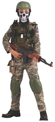 Camo Army Trooper Child Costume