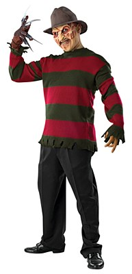 Freddy Krueger Deluxe Adult Movie Sweater