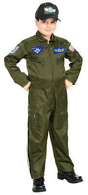 Air Force Figter Pilot Child Costume