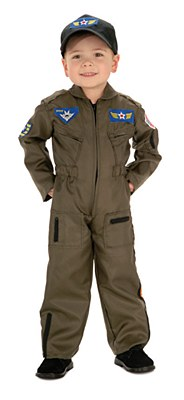 Air Force Figter Pilot Toddler Costume
