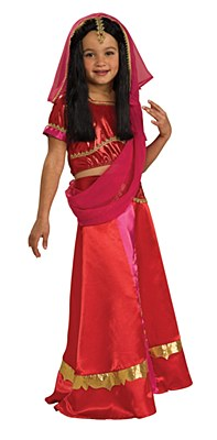 Bollywood Princess Child Costume