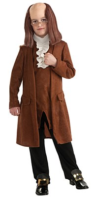 Benjamin Franklin Child Costume