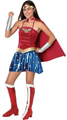 Wonder Woman Teen Costume