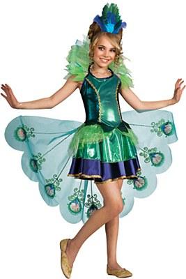 Peacock Child Costume