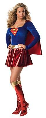 Superman Sexy Supergirl Adult Costume