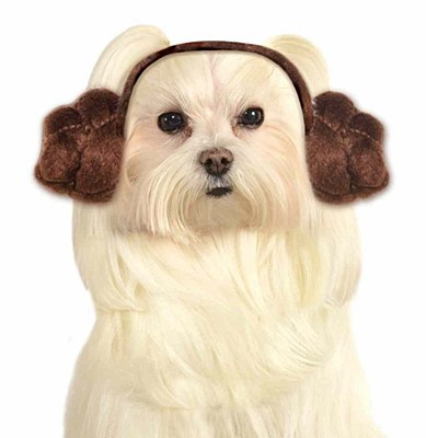 Star Wars Princess Leia Pet Ear Headband