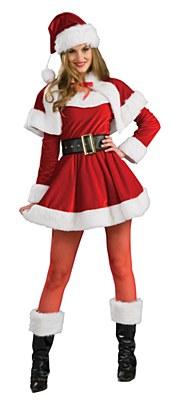 Mrs. Santa Claus Helper Adult Costume