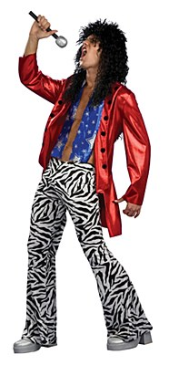 Heavy Metal Hero Adult Costume