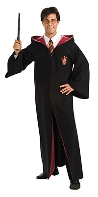 Harry Potter Deluxe Gryffindor Adult Robe