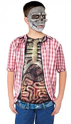 Skeleton Zombie Child T-Shirt