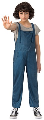 Stranger Things Eleven Adult Overalls