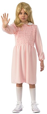 Stranger Things Eleven Pink Dress Child Costume
