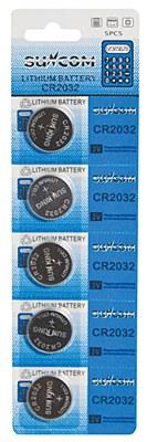 Calculator Batteries CR2032 - 5 Pack