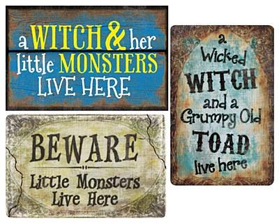 Halloween Sign Assortment