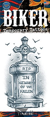 Gothic Tombstone Tattoo