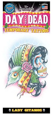 Day Of The Dead Lady Gitanos Tattoo