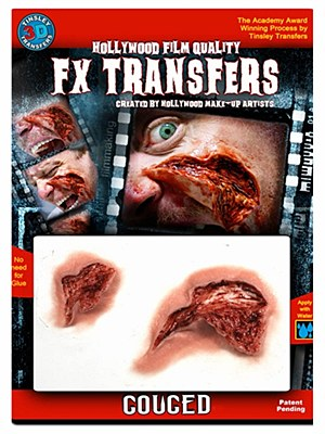 Gouged Wound 3D FX Transfer