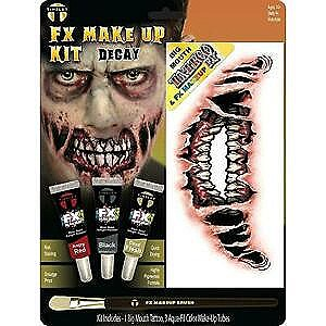Zombie Decay Big Mouth FX Makeup Kit
