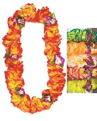 Orchid Lei Assorted Colors