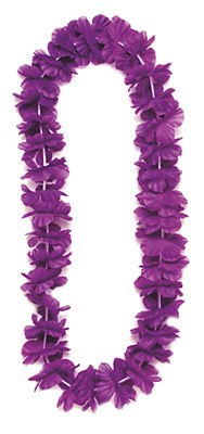 Island Flower Lei - Purple