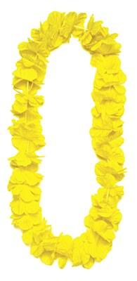 Island Flower Lei - Yellow