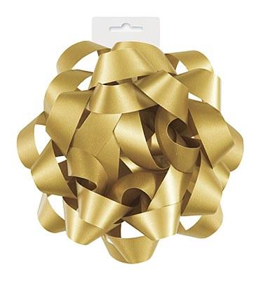 Ribbon Gift Bow - Gold Satin