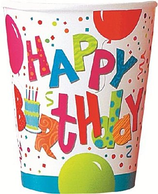 Birthday Jamboree Paper Cups