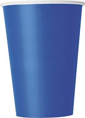 Blue 12oz Paper Cups - 10 Count