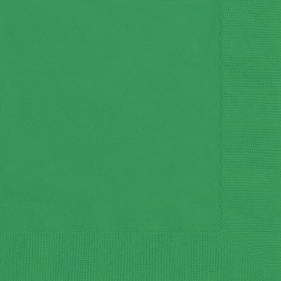 Solid Color Green Napkins