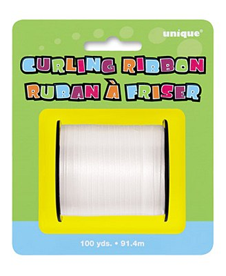 White 100yd Curling Ribbon